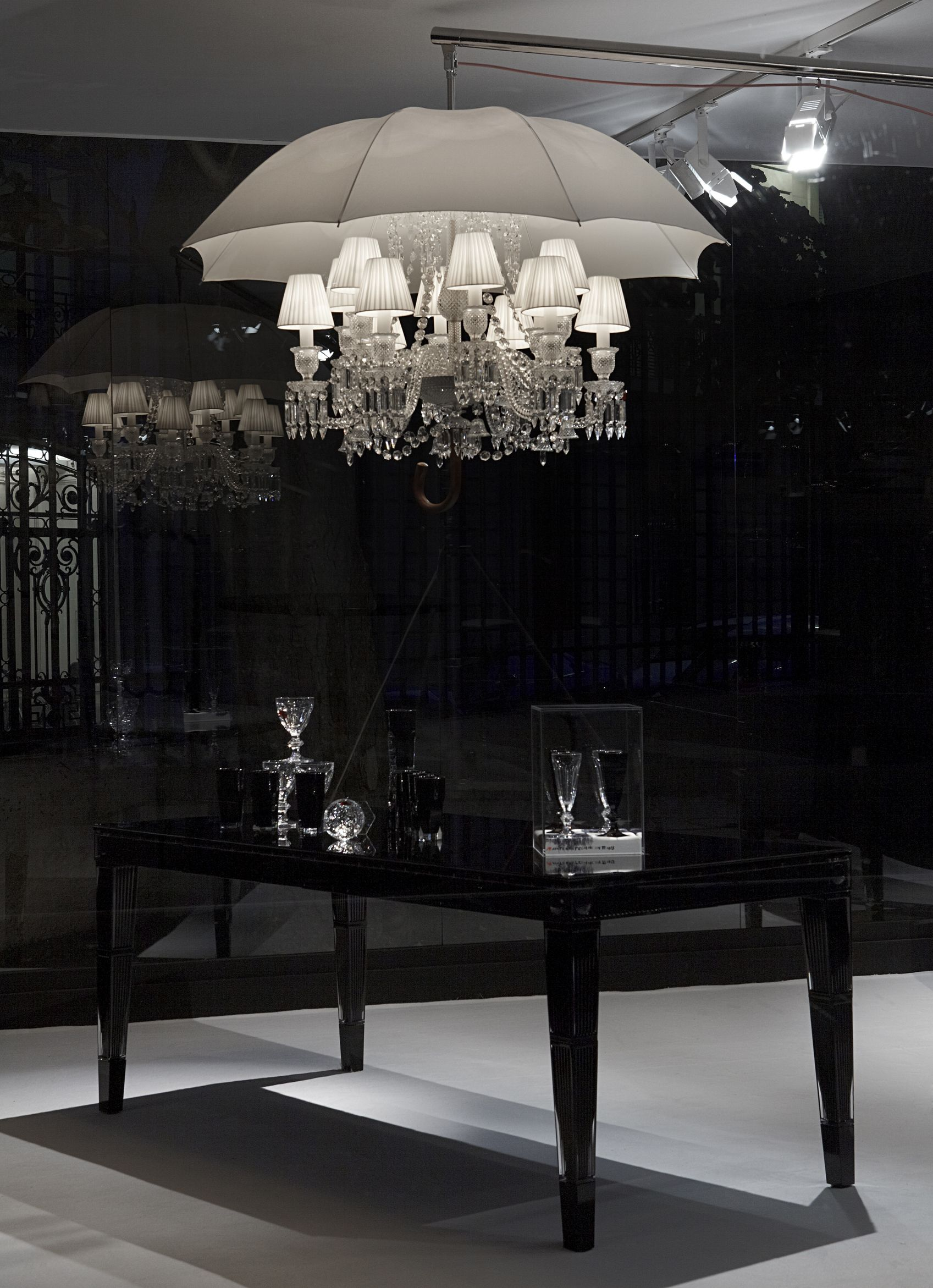 This absolutely stunning crystal chandelier Marie Coquine