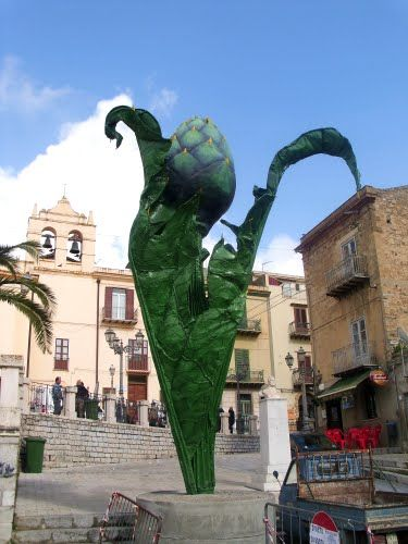 Visit Cerda, Sicily - Artichoke Festival  (April 25).  Also Nasca's Artichoke Restaurant.  And artichoke gelato!
