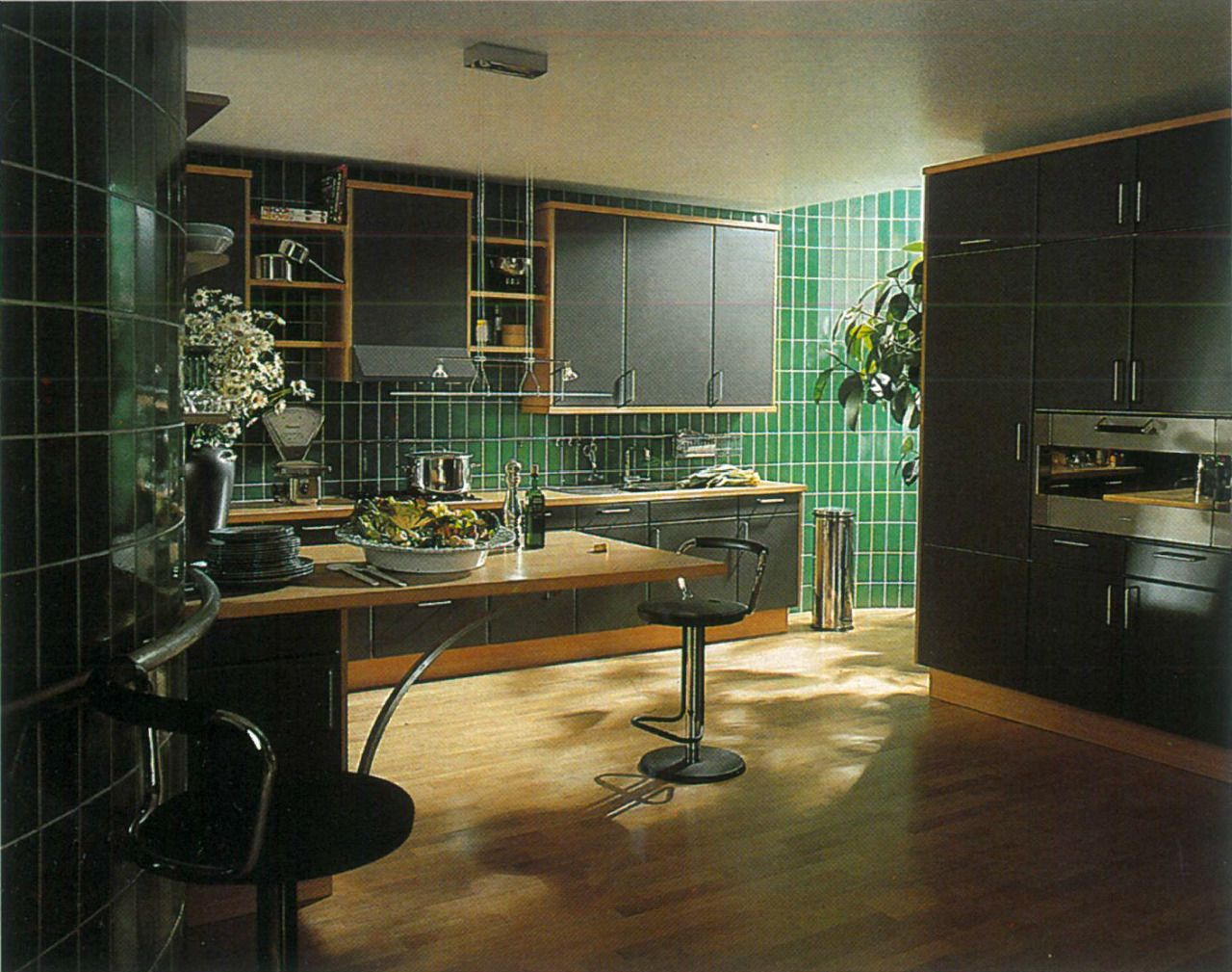 Siematic Kitchen 1988 Scan Retro Interior Design Vintage Interior Decor 80s Interior Design