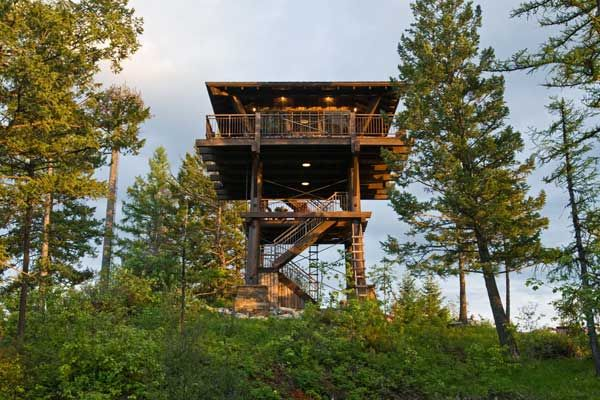 House On Top Of Lookout Mountain: 10 Amazing Lookout Towers Converted Into Homes