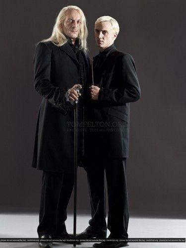 Tom Felton Photo Harry Potter The Deathly Hallows Part Ii Photoshoot Draco Malfoy Malfoy Family Lucius Malfoy