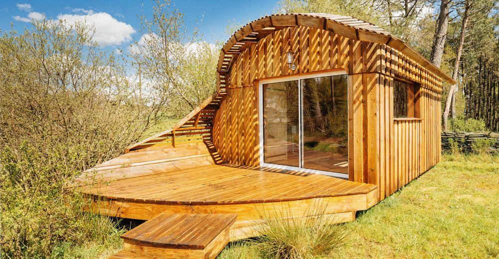 Habitat insolite et écologique - TyKabane -   Habitat, Petite maison bois