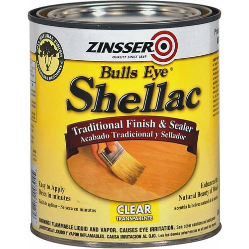 Zinsser Bulls Eye Shellac Non Toxic And Food Safe Good For Sealing Paint Projects 10 Zinsser Shellac Shellac Shellac Finish