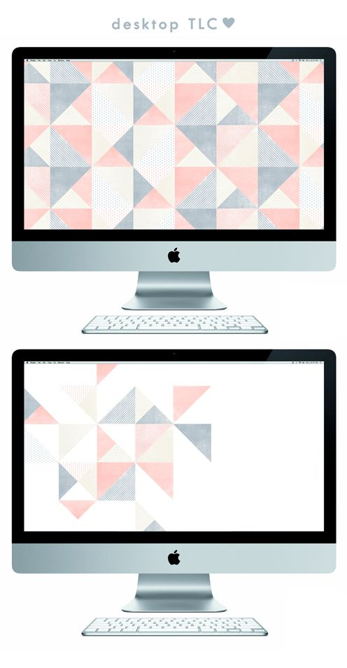 Something For Your Screen Geometric Wallpaper Desktop Imac Wallpaper Reading Wallpaper