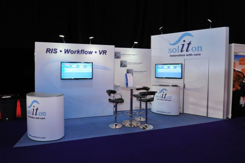 Marketing Exhibition Stand Goals : Soliton m trade show stand isoframe