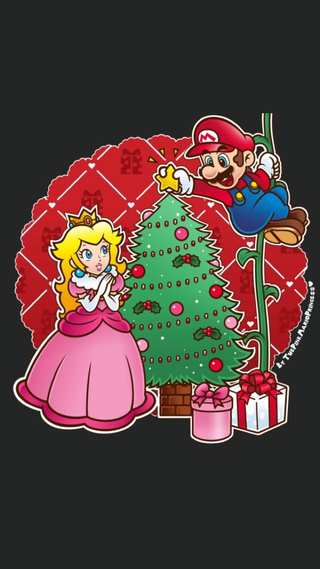 Super Mario World Christmas.Christmas Mario Bros Mario Luigi Super Mario Luigi