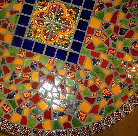 Image Result For TALAVERA TILE ROUND TABLE