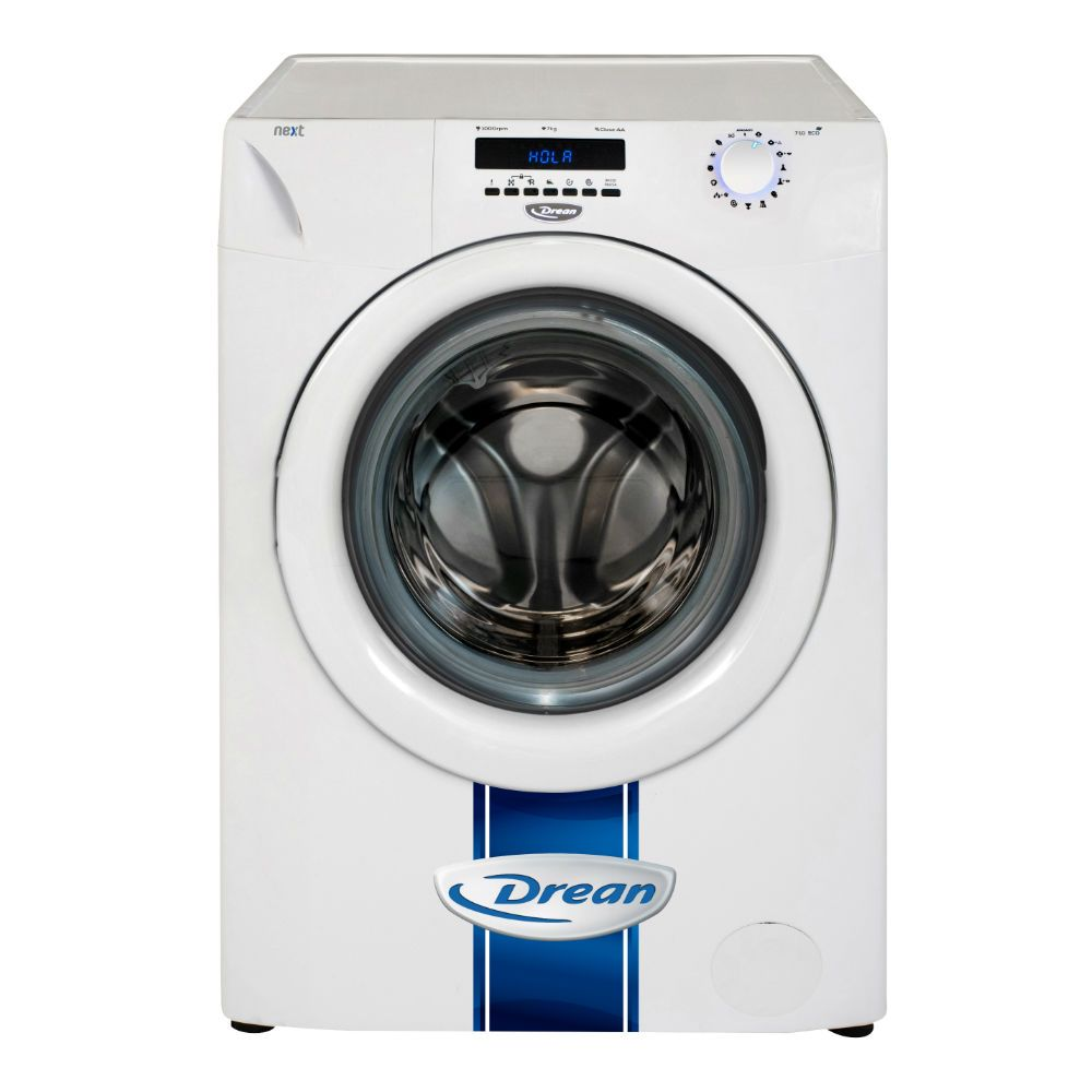 Lavarropas Carga Frontal 7kg 1000 Rpm Drean Next 7 10 Eco