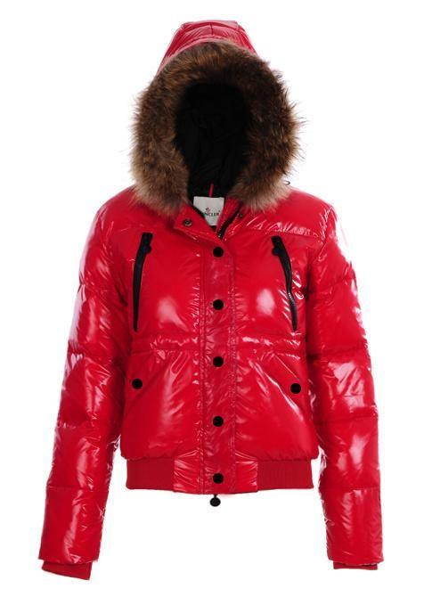 1aa66981d Moncler Europe Polyester Nylon Jacket Women Red [2900465] - £157.99 ...