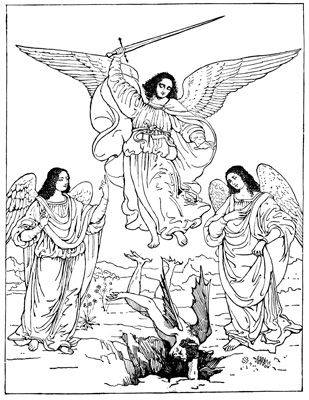 St. Michael Archangel | Angels | Pinterest | Cielo y Bordado