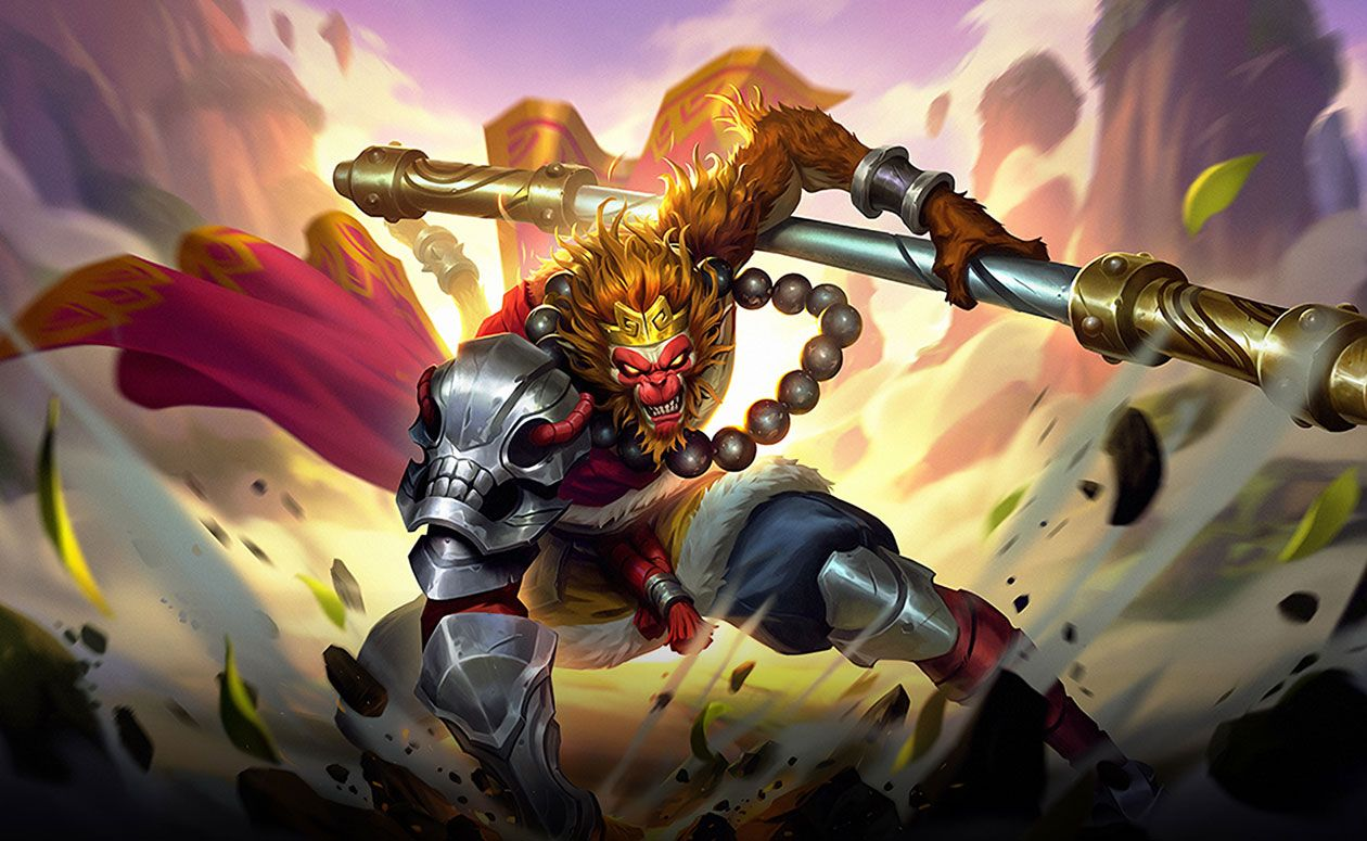 Sun character artwork from Mobile Legends: Bang Bang #art
