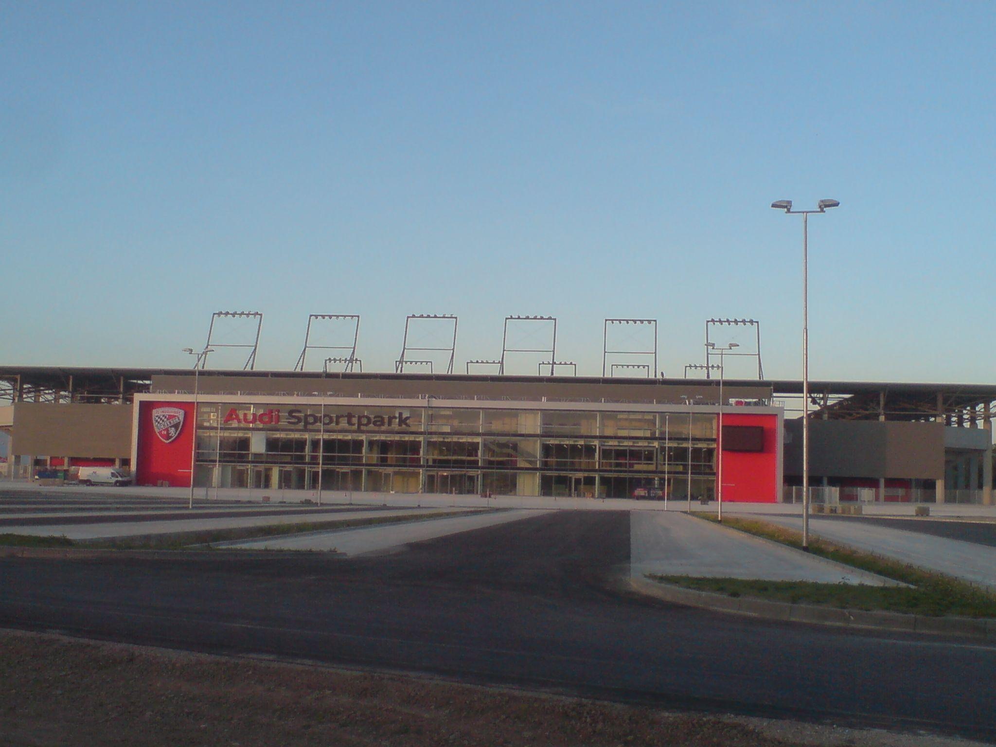 Description AudiSportpark.jpg My sports interest also