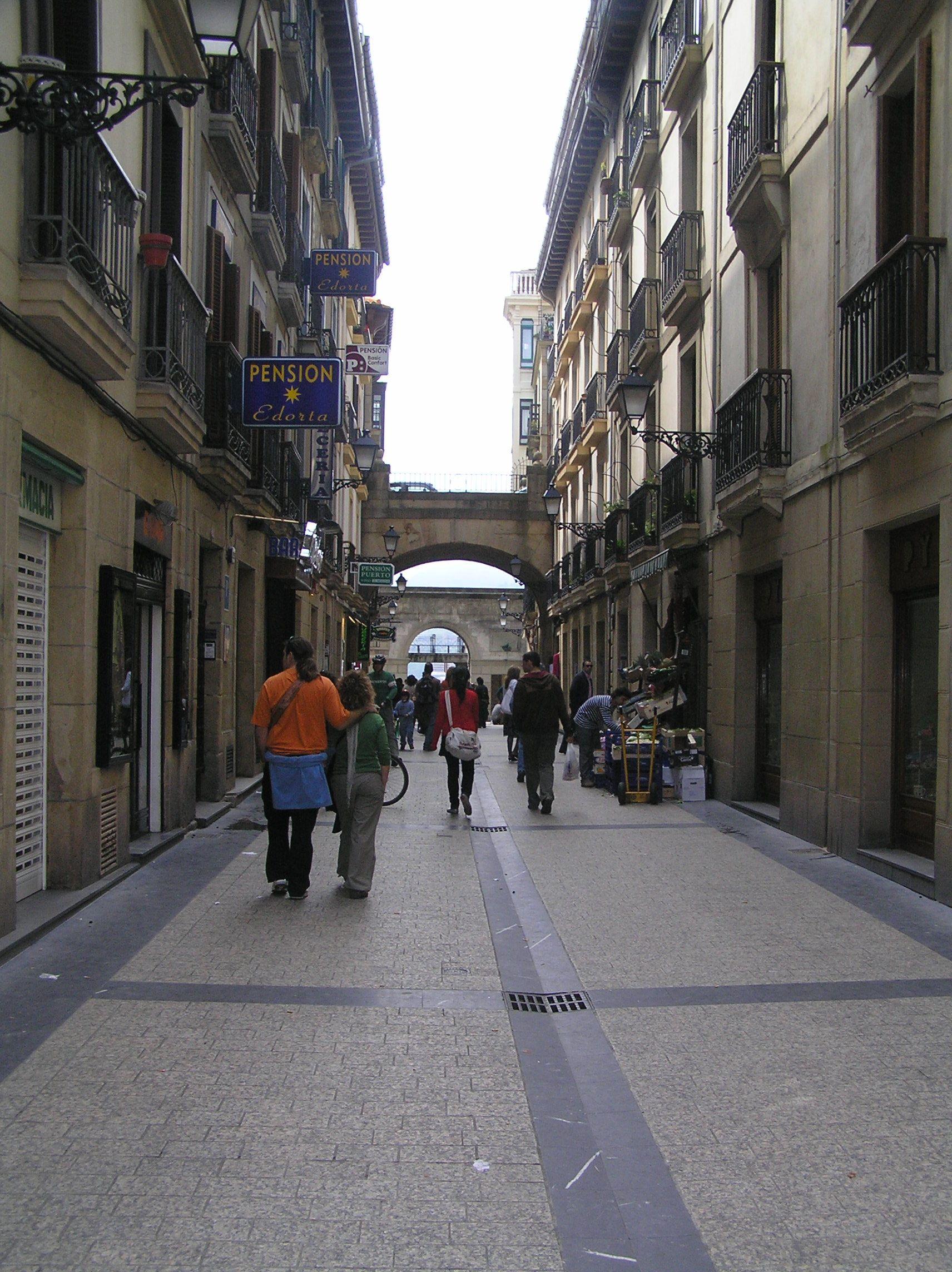 País Vasco San Sebastián Casco Antiguo País Vasco Casco Antiguo Paises