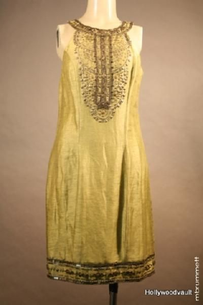 Seven Pounds (2008) costumes wardrobe Emilys (Rosario Dawson) Screen Worn Dress ugh this dress! <3