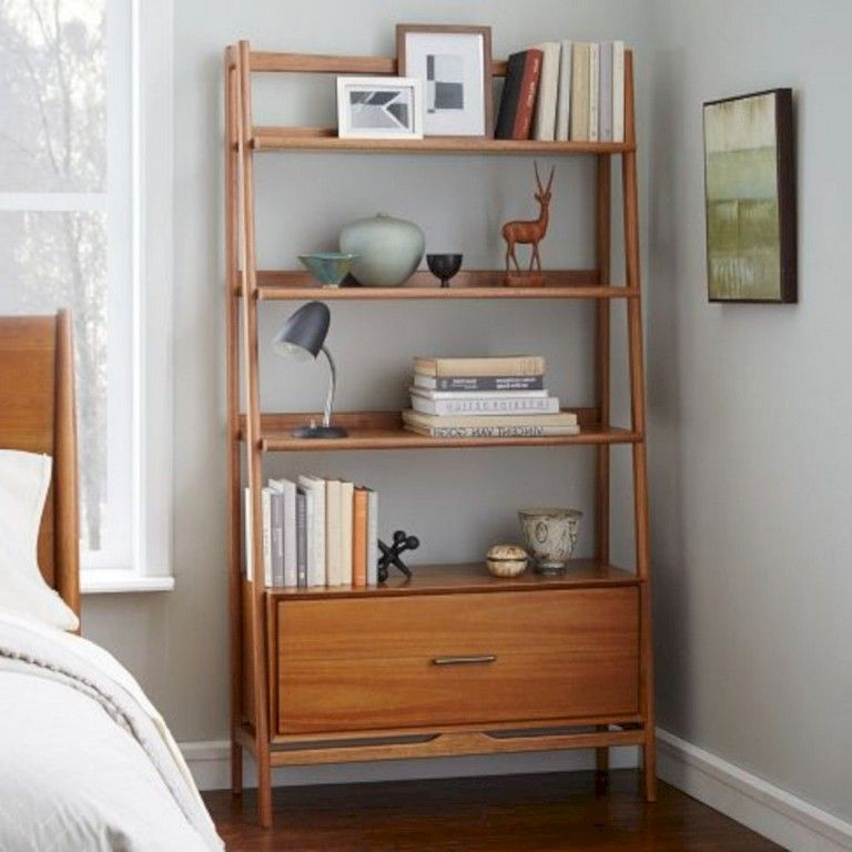 27 Smart Mid Century Modern Bookcases Ideas Youll Love 60s Furniture Mid Century Modern Bookcase Modern Apartment Decor