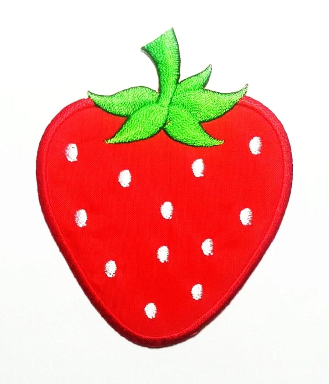 CUTE PRETTY RED STRAWBERRY Embroidered Iron on Patches * You can find out more details at the link of the image.