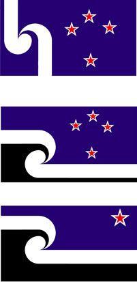 Three alternative designs for the NZ flag  Designs / Jeremy | New