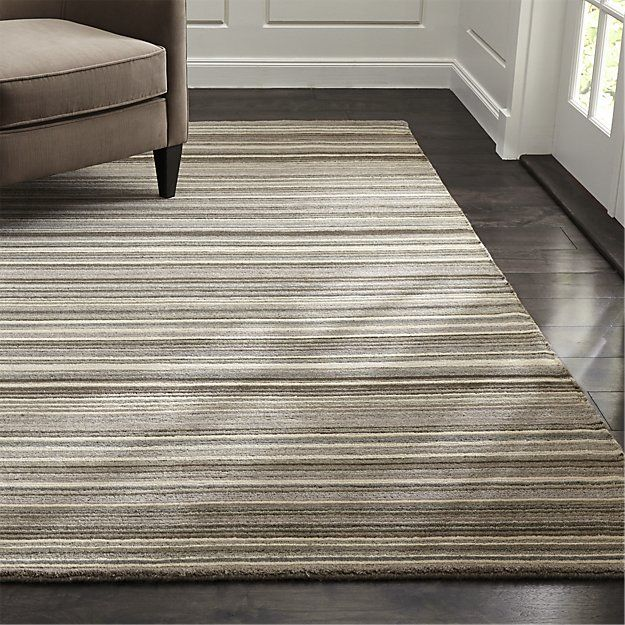 Lynx Grey Textured Wool Rug 8 X10 Reviews Crate And