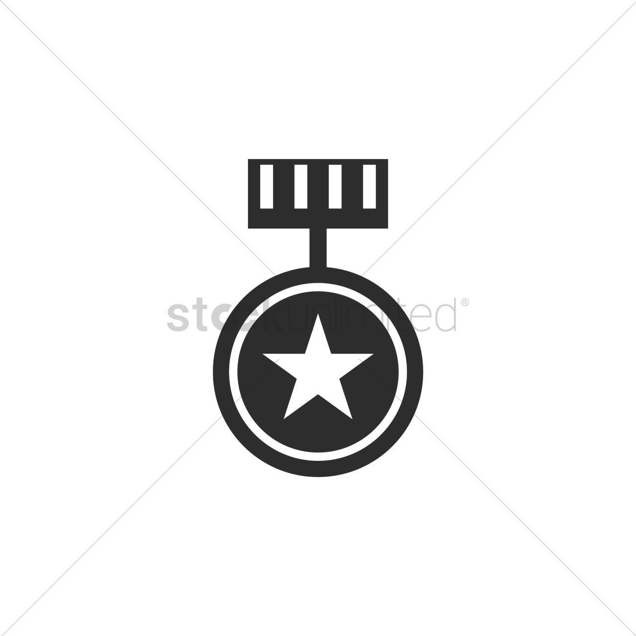 Medal vectors stock clipart