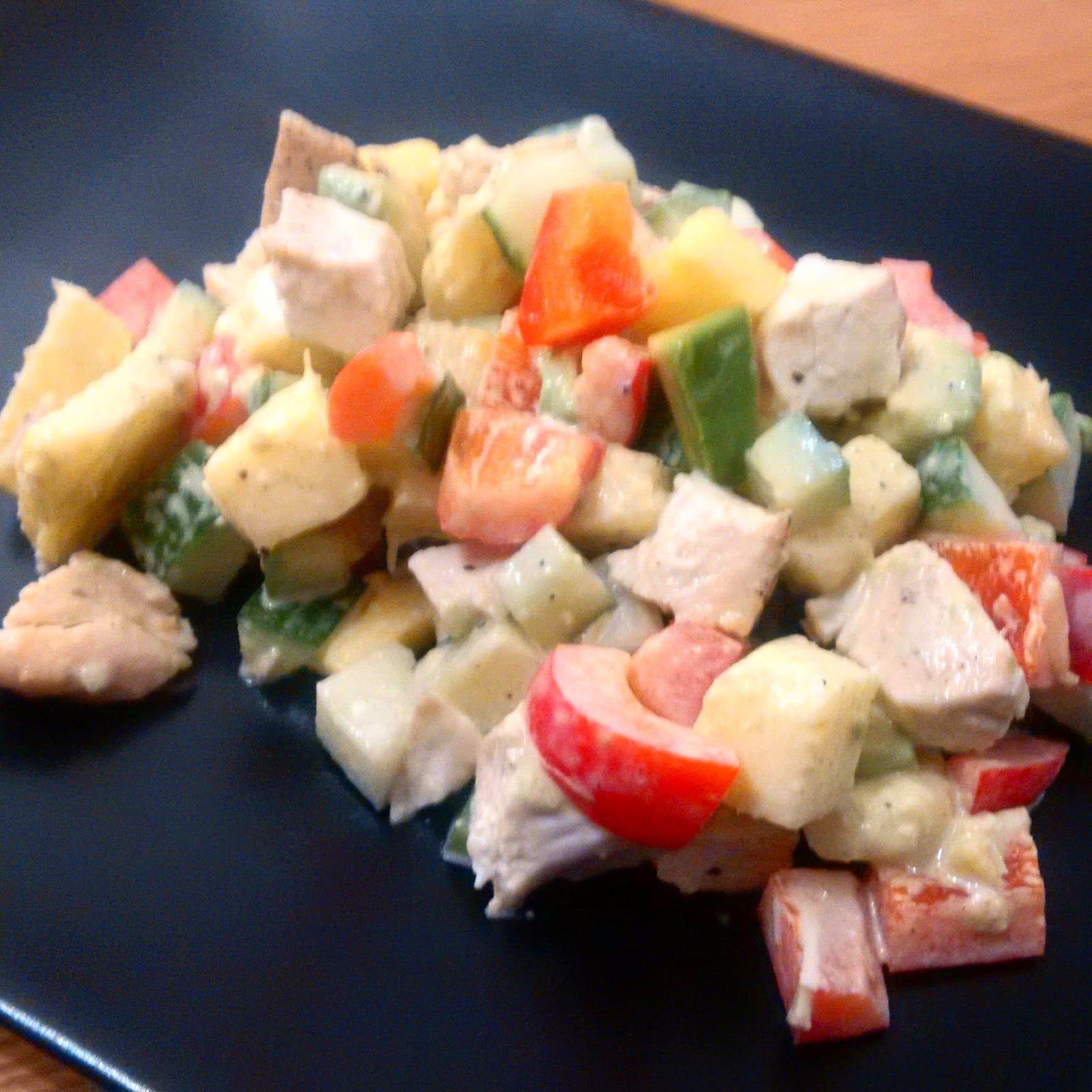 Pipapo Paleo: Rezept: Tropischer Hähnchensalat