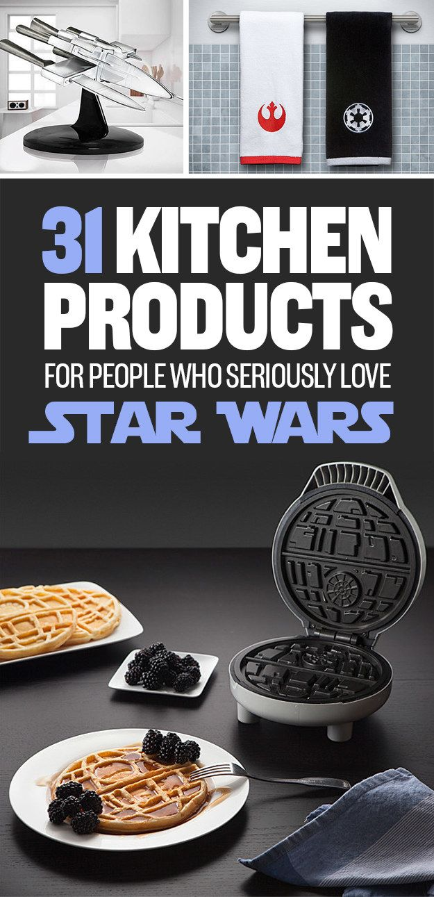 31 Kitchen Products For People Who Seriously Love Star Wars | House ...
