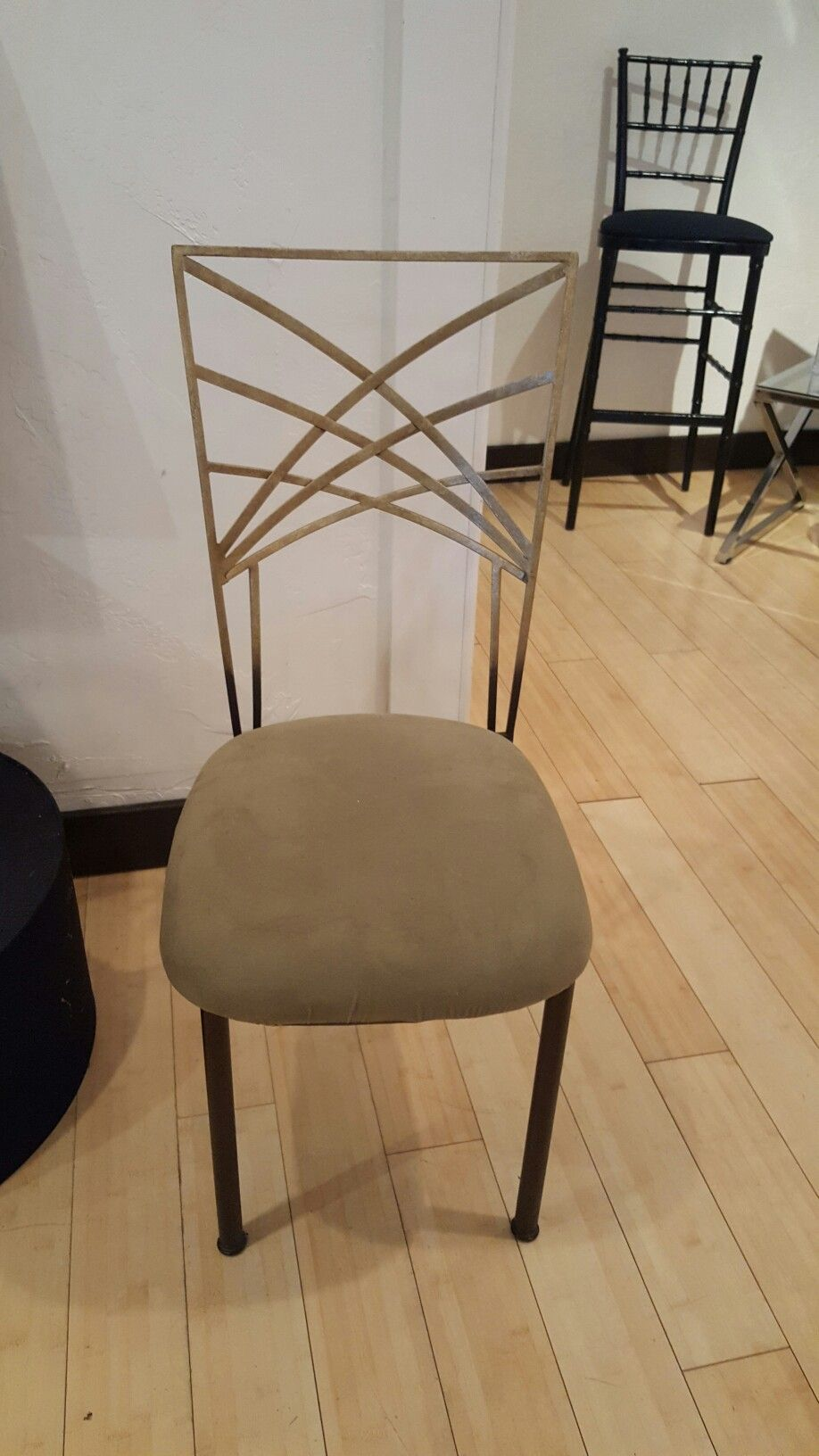 Chameleon chairs classic party rentals gold Rental