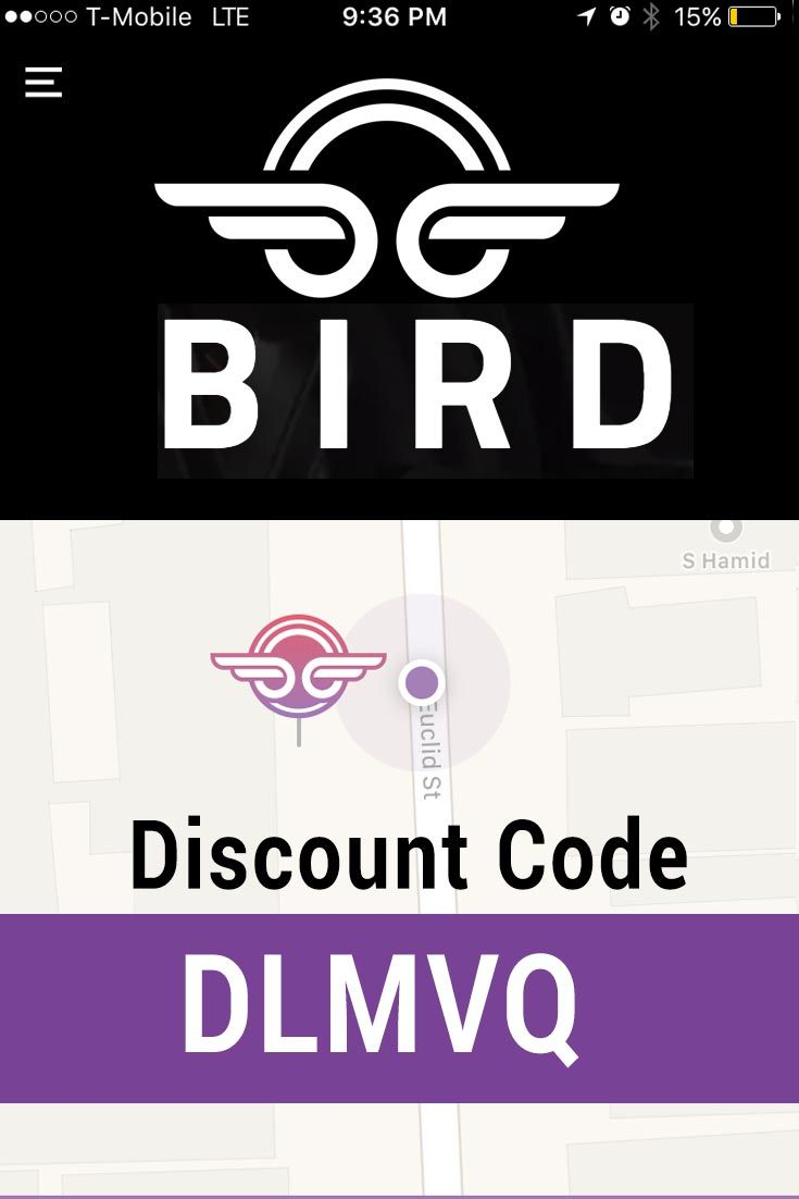 Bird app promo code couponsuck coupons and promo codes pinterest bird app promo code get 5 free with invite code mokwp fandeluxe Images