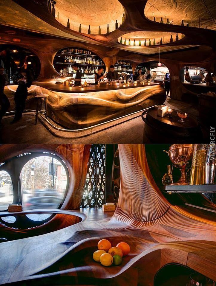 Restaurants & Bars – 188 photos | VK | Bar design ...