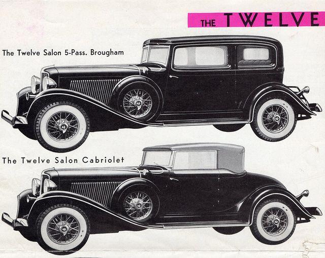 1933 Auburn Twelve Salon Brougham and Cabriolet | Flickr - Photo Sharing!