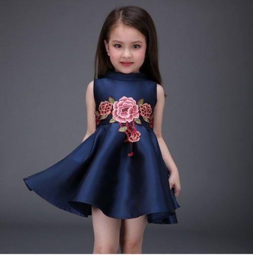 "94b643622 Vestidos De Niña Para Cumpleaños. ""Modelos de vestidos para tu hija"" Los  vestidos para niñas son coloridos"
