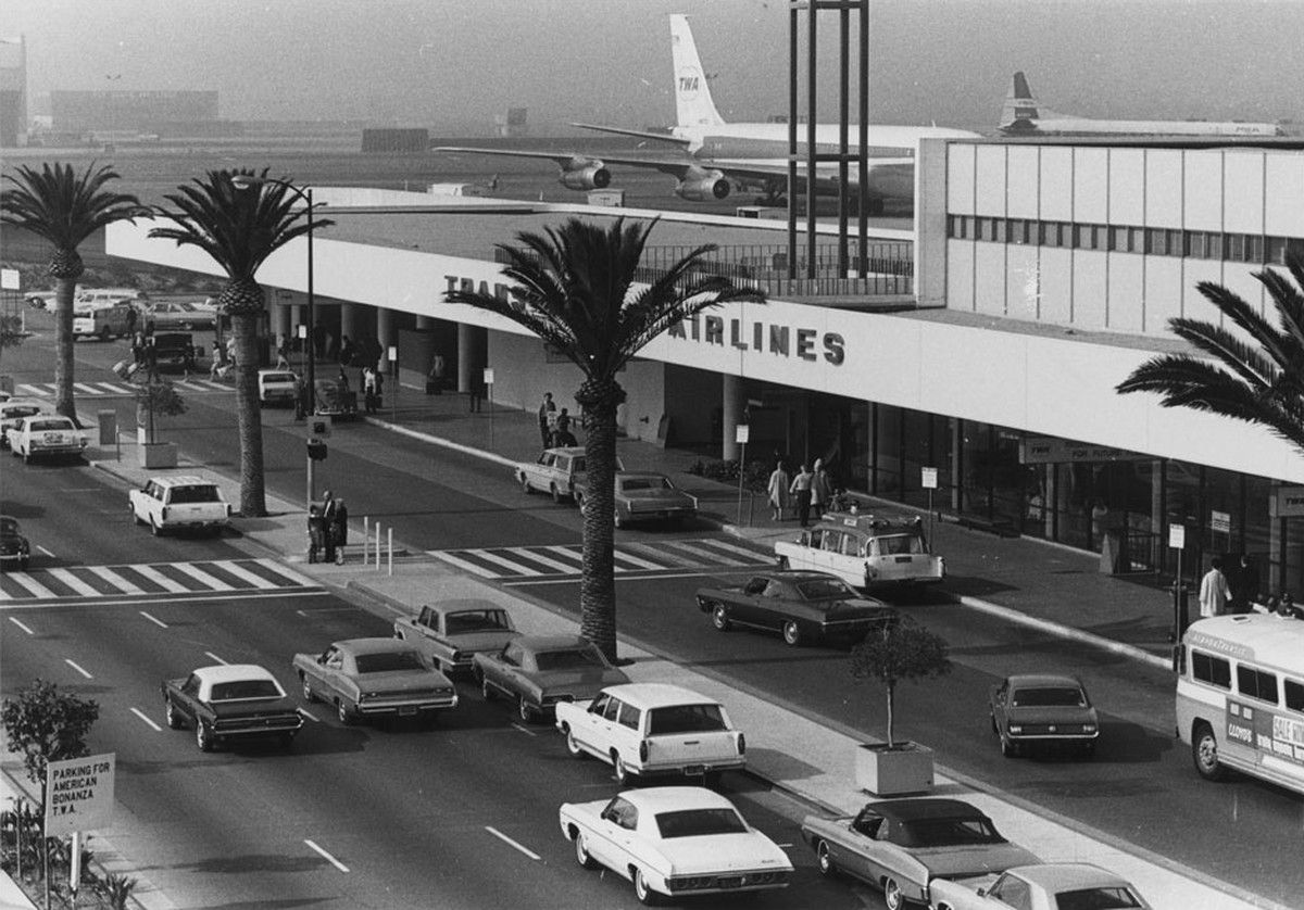 Lax 1970s Hemmings Daily Los Angeles International Airport Transworld Airlines Twa