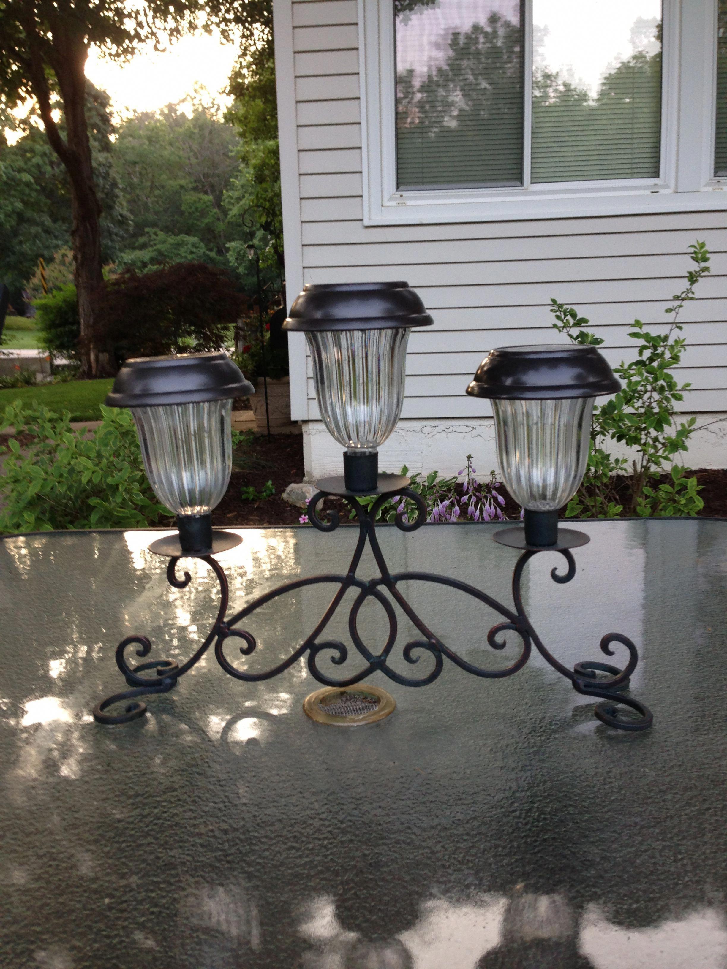 Go Green With Solar Garden Lights Diy Outdoor Lighting Solar Lights Garden Solar Light Crafts