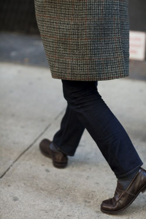 UPDATE – Before Winter Is Over, Try Tweed & Denim « The Sartorialist