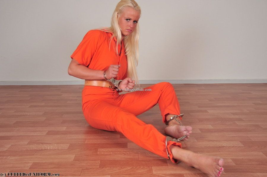 Gay Jail Twinks Handcuffed
