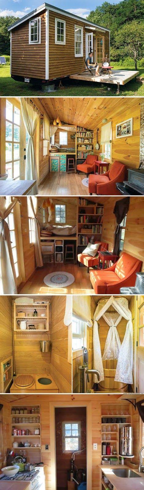 mytinyhousedirectory: Rowan Kunz Tiny House | tiny house | Pinterest ...