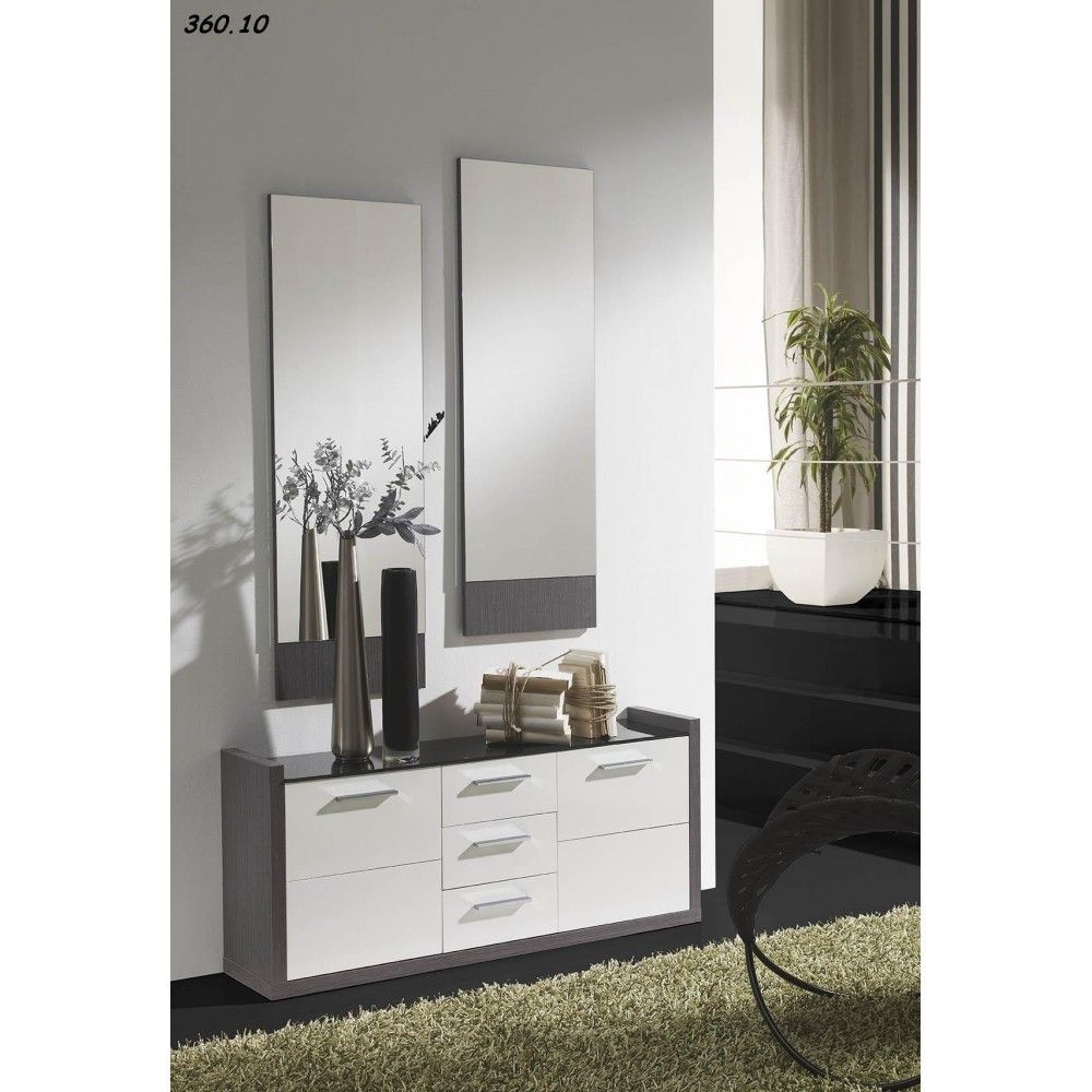 meuble d 39 entr e glam au design original il sera tr s pratique avec ses tiroirs pour ranger. Black Bedroom Furniture Sets. Home Design Ideas