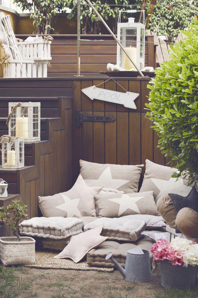 decorar exterior colchones cojines ideas de decoraci n