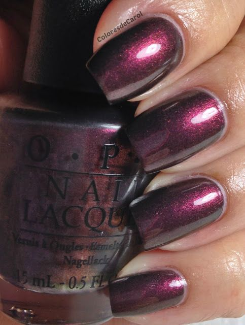 nails.quenalbertini: Colores de Carol - OPI Fall 2013 Collection - San Francisco. Swatches and Review