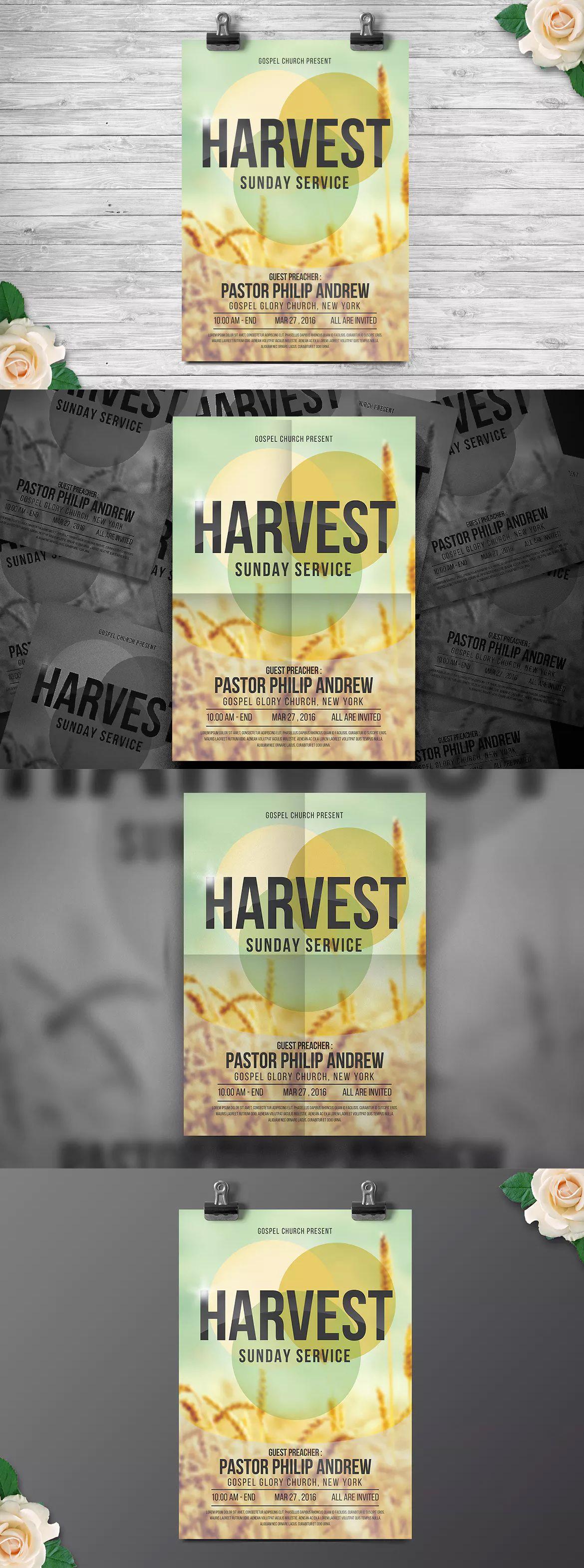 Church Gospel Flyer Templates Ai Psd Flyer Templates Pinterest