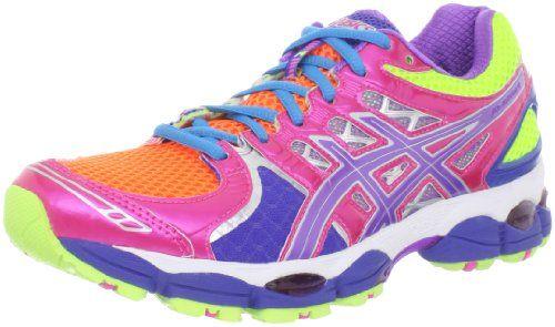 ASICS - Gel - Chaussure de course Gel Nimbus 14 Grape pour femme - Light Bright/ Grape/ Pink - 6 M 2c85473 - tinyhouseblog.website