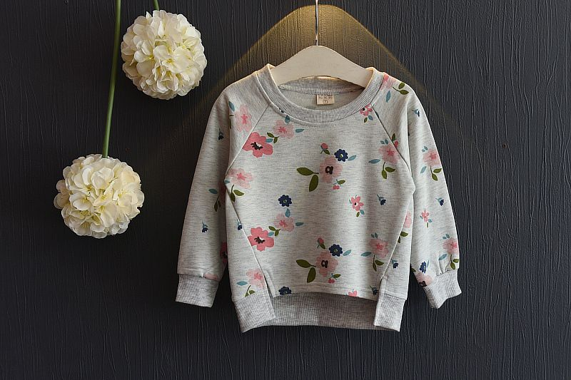 2017 New Children's Sweater Spring Autumn Baby Hoodie Sweatshirts For Girls Kids Baby Girl Sweater Pullovers Long Sleeve T-shirt #children'ssweaters