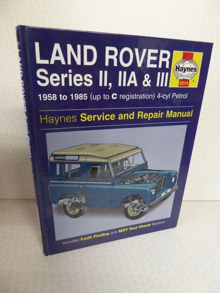 details about land rover series ii iia & iii 1958 to 1985 heynes