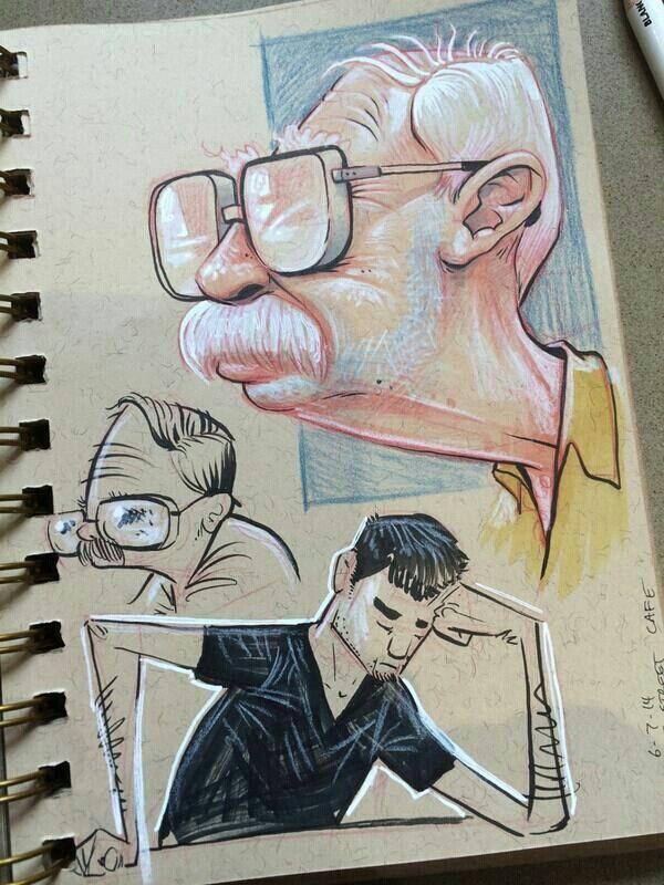 Fill a sketch book
