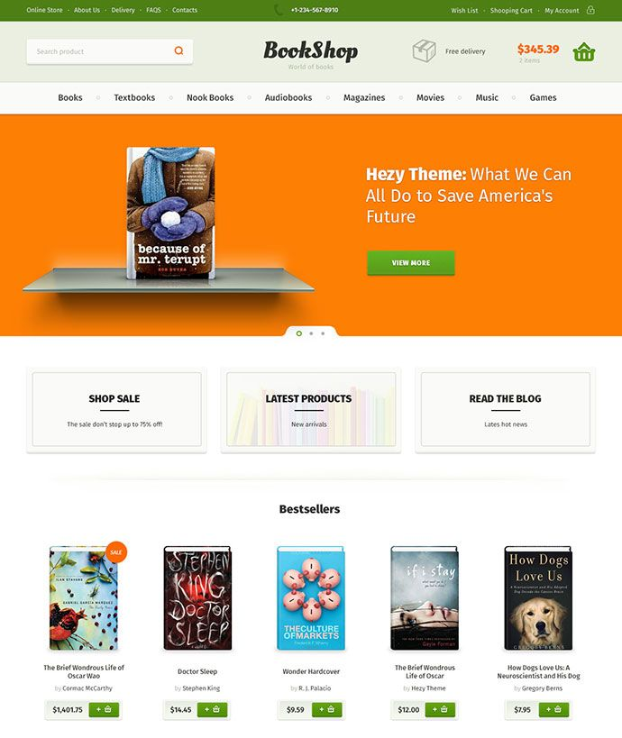 40 Fantastic Online Book Store Web Designs Bashooka Bookshop Online Bookstore Bookstore