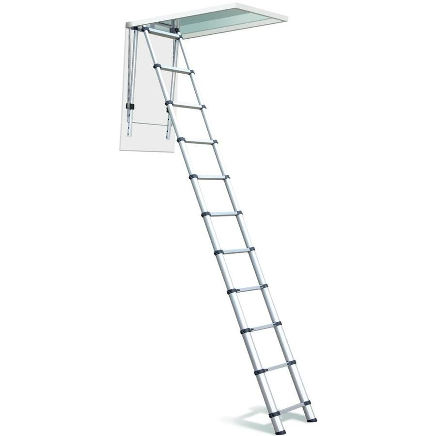 Telesteps Telesteps Attic Loft Ladder Lowes Com In 2020 Loft Ladder Attic Ladder Attic Loft