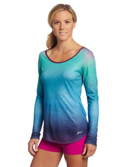 Amazon.com: ASICS Women's PR Slub Long Sleeve Top: Sports & Outdoors