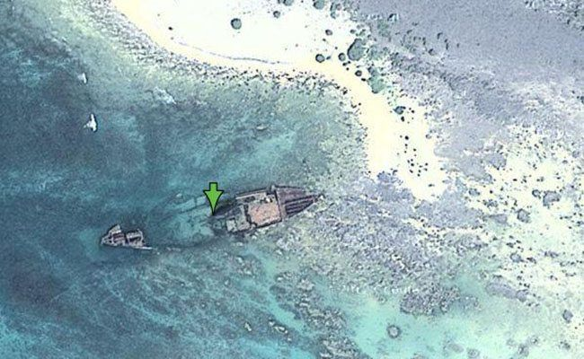 Nineveh, North Sentinel Island: This ship lies dormant in ...