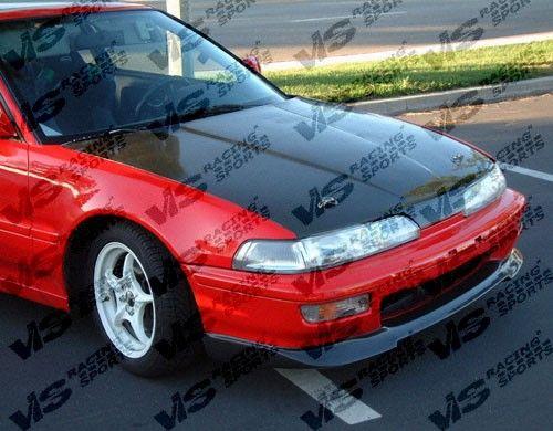 Vis Racing 1990 1993 Acura Integra 2dr 4dr Oem Carbon Fiber Hood 448 50 Acura Integra Acura Vtec