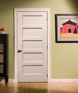 Five Panel Interior Doors 5 Wood Shaker