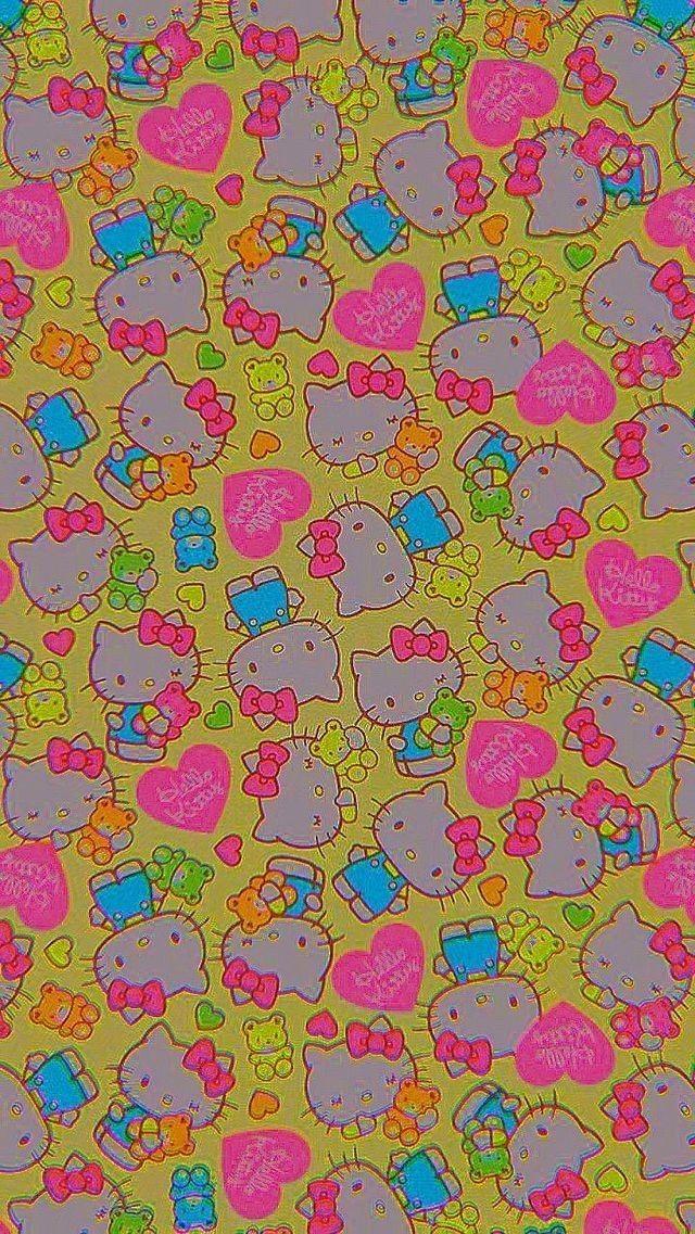 Wallpaper Hippie Wallpaper Edgy Wallpaper Kitty Wallpaper